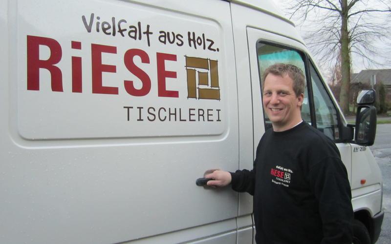 Tischlerei Riese, Glandorf; Tischlermeister, Holztechniker Burkhardt Riese