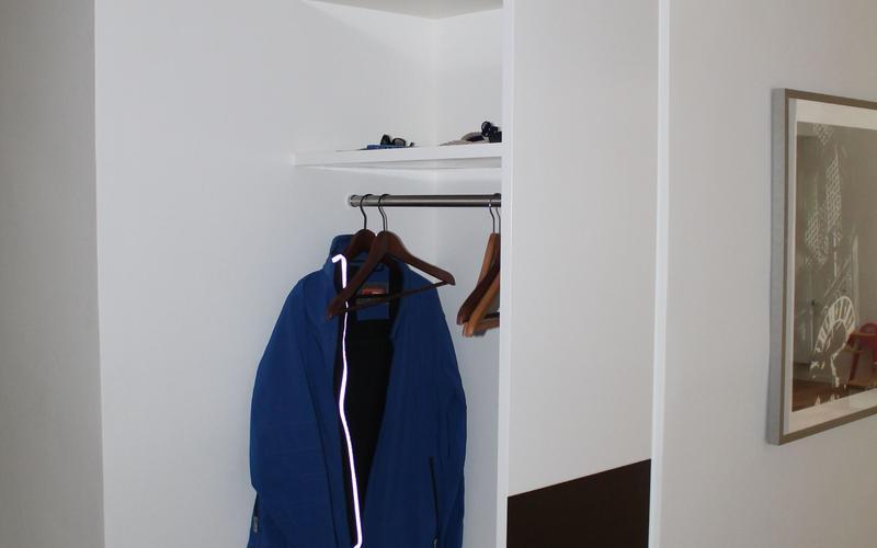 Tischlerei Riese, Glandorf; Garderobe in Weißlack